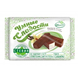 Smart sweets PASTILE with stevia, vanilla, glazed 175 g No added sugar