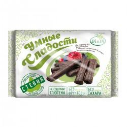 Gudrie saldumi BATONIŅI ar stēviju, amaranta, glazūrā, ar meža ogu pildījumu,vitaminizēti 110g