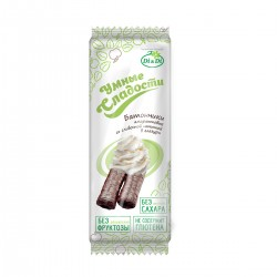 Smart Sweets BARS with stevia, amaranth,  with cream filling, glazed, vitaminized 20 g