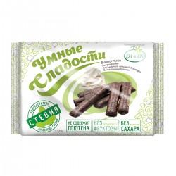 Умные Сладости БАТОНЧИКИ со стевией, амарантовые, со сливочной начинкой , в глазури, витаминизированные 110 г