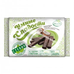Smart Sweets BARS with stevia, amaranth,  with coconut filling, glazed, vitaminized 110 g
