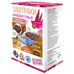 Di&Di BREAKFAST amaranth with dark chocolate 250 g