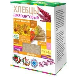 Di&Di Amaranth CRISPBREAD with Jerusalem artichoke Extruded 195g Gluten Free