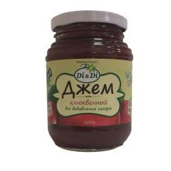 Di&Di JAM Cranberry with Jerusalem artichoke 300g Sugar free