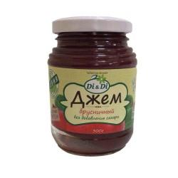 Di&Di JAM Cowberry with Jerusalem artichoke 300g Sugar free