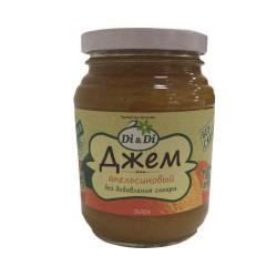 Di&Di JAM Orange with Jerusalem artichoke 300g Sugar free