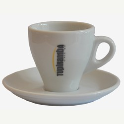 Tupinamba Tase ar apakštasi Espresso, S izmērs