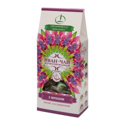 Ivan Tea Rose Bay Willow Herb Tea leaves with heather 15 pyramids 30g