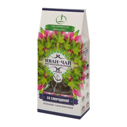 Ivan Tea Rose Bay Willow Herb Tea leaves with currant 15 pyramids 30g
