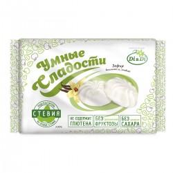 Умные сладости ЗЕФИР со стевией, ванильный 150 г Без сахара