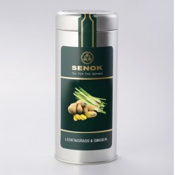 Senok зеленый чай с лимонной травой и имбирем 100г