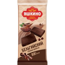 Yashkino dark chocolate 90g