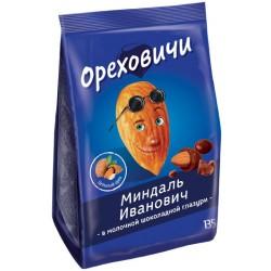 Drops Orekhovichi Almond Ivanovich in milk-chocolate glaze 135g