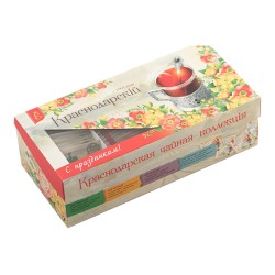 Krasnodar tea collection VEKA teabags 100pcs