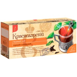 Krasnodar Classic melnā tēja 25 tējas maisiņi