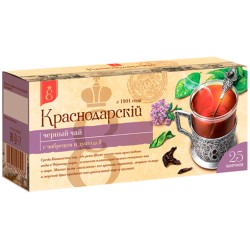 Krasnodar Black tea with thyme and oregano 25 tea bags