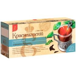 Krasnodar Black tea with bergamot flavor 25 tea bags