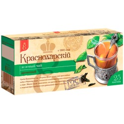 Краснодар Чай зеленый 25 пакетиков