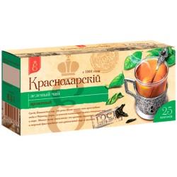 Krasnodar zaļā tēja 25 tējas maisiņi