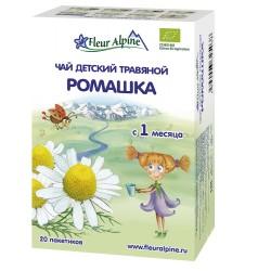 Fleur Alpine РОМАШКА Чай детский травяной c 1 месяца, в пакетиках