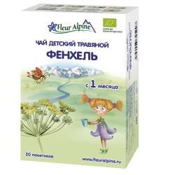 Fleur Alpine FENNEL organic Baby herbal tea from 1 month