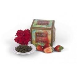 Regalo Orchard Mist зеленый чай с клубникой и гранатом 100г