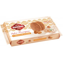 Waffles Yashkino Dutch with caramel filling 290g
