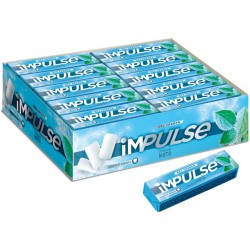 mint flavored Chewing gum iMPULSE mint flavored