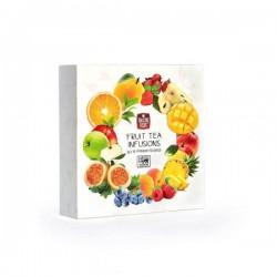 Mccoy Fruit Tea Infusions Zaļās tējas kolekcija piramīdās 16x2g
