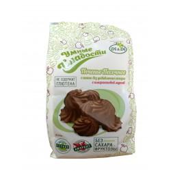 Умные Сладости Печенье песочное с какао без сахара с амарантовой мукой 210г