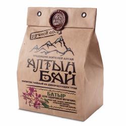 Altyn Bai tea drink from wild herbs BATIR for men health 100g