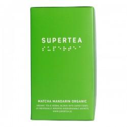 Teministeriet Supertea Matcha Mandarin Organic 20 Tea Bags