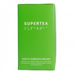 Teministeriet Supertea Matcha Mandarin Organic 20 tējas maisiņi