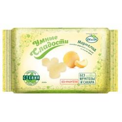 Gudrie saldumi MARMELĀDE MELONE ar stēviju, neglazēta 200g Bez pievenota cukura