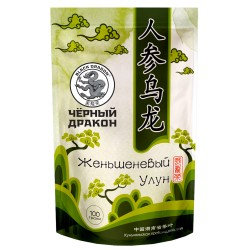 Black Dragon Oolong tea with ginseng 100g