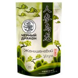 Черный Дракон улун чай с женьшенем 100г