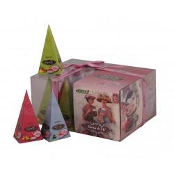 Liran Charme de Thé baltās tējas kolekcija piramīdas 12gab.x2g