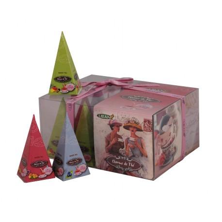Liran Charme de Thé White Tea Collection pyramids 12x2g