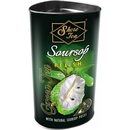 Shere Green Tea Soursop Relish 100g