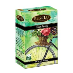 Regalo Green Breeze зеленый чай 100г