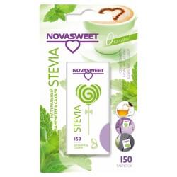Novasweet dabiskais cukura aizvietotājs uz stēvijas ekstrakta bāzes 150 tabletes