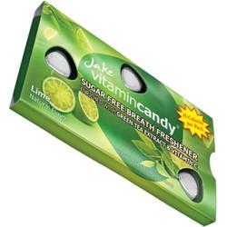 Jake vitamin Candy konfektes bez cukura ar vitamīnu C ar zaļu tēju un citronu garšu 15gab 18g