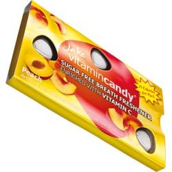Jake vitamin Candy konfektes bez cukura ar vitamīnu C ar persiku garšu 15gab 18g