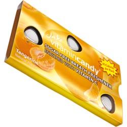 Jake vitamin Candy konfektes bez cukura ar vitamīnu C ar mandarīnu garšu 15gab 18g