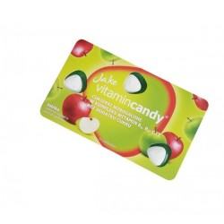 Jake vitamin Candy конфеты без сахара с витамином C со вкусом яблока 15шт 18г