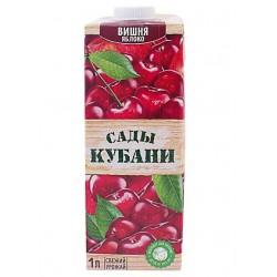 """Нектар вишня-яблоко """"Сады Кубани"""" 1л"""