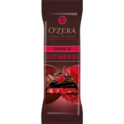 Сhocolate bar O`Zera Dark & Red berries 40g