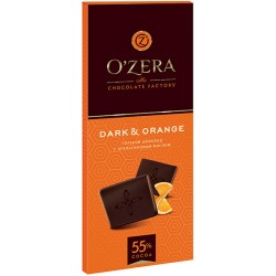 Шоколад O`Zera Dark Orange 55% какао 90 г