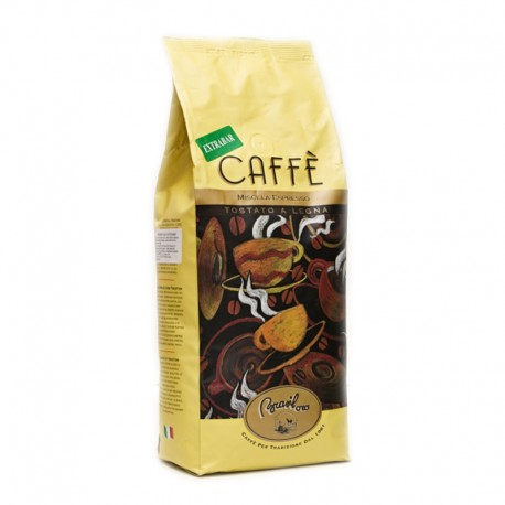 Coffee beans Brasil Oro Extra Bar 1kg