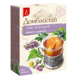 Краснодар Домбайскiй Чай зеленый с мятой и крапивой 60 г